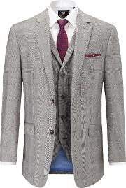 Men's  Cheltenham Classic Suit Jacket, Light Grey