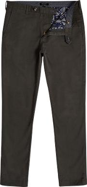 Men's  Tapcor Tapered Fit Chinos, Dark Green