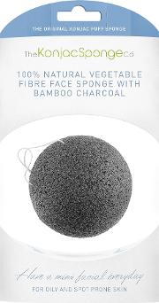 Facial Sponge With Bamboo Charcoal