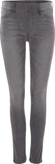 Runway Leggings Jeans In Grey Stage, Grey