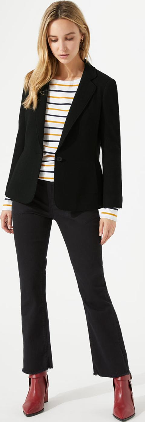 Clothing, Shoes & Accessories Kind-Hearted 42 L Hugo Boss 100 % Pure Columbo Cashmere Salt And Pepper Sport Jacket Complete Range Of Articles