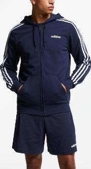 Essentials 3 Stripes Hoodie