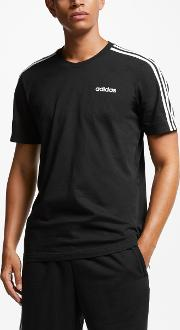 Essentials 3 Stripes T Shirt