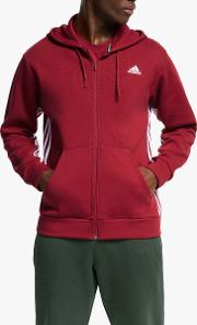 Must Haves 3 Stripes Full Zip Hoodie