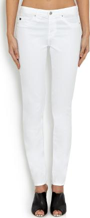 The Prima Mid Rise Skinny Jeans