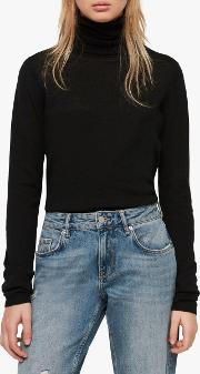 Ira Roll Neck Knit Jumper