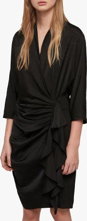 Issey Draped Dress