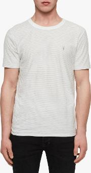 Raphael Stripe Crew Neck Reversible T Shirt