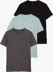 Tonic Crew Neck T Shirt, Pack Of 3