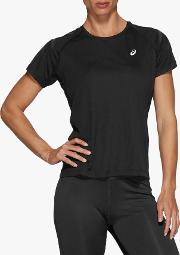 Silver Icon Short Sleeve Running Top