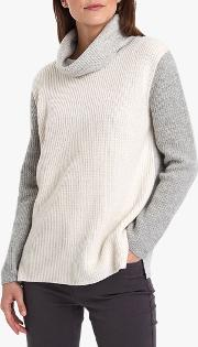 Dipton Roll Neck Wool Blend Jumper