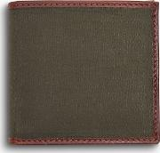 Dry Wax Cotton Wallet