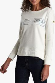 International Meribel Stripe Cotton Jumper