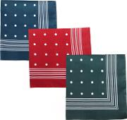 Spotted Handkerchief, Pack Of 3