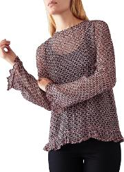 Maru Printed Blouse