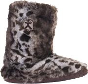 Cole Faux Fur Boot Slippers