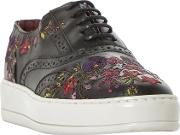 Eeden Embroidered Lace Up Trainers