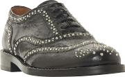 Farryn Studded Lace Up Brogues