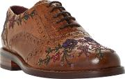 Fielder Embroidered Brogues