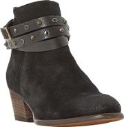 Prynceton Block Heeled Ankle Boots