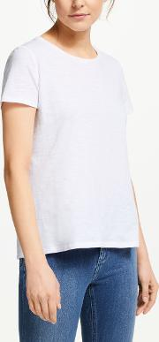 Cotton Back Detail T Shirt