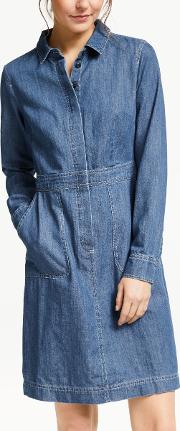 Hattie Denim Shirt Dress