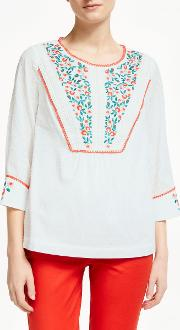 Kelsey Embroidered Blouse