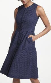 Leila Sleeveless Shirt Dress