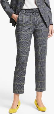 Malden Tweed Belted Trousers