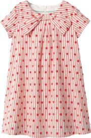 Mini  Girls' Spotty Bow Dress