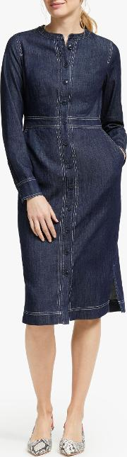 Sara Denim Shirt Dress