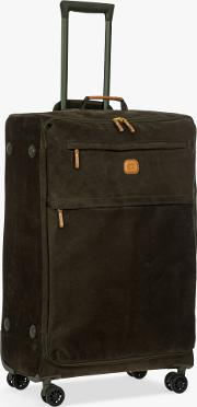 Life Lightweight 4 Wheel 77cm Large Spinner Suitcase