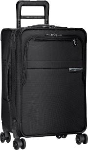 Baseline Domestic Carry On Expandable Spinner 4 Wheel Suitcase