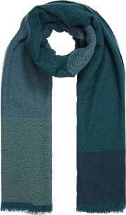 Cashmere Colour Block Stole