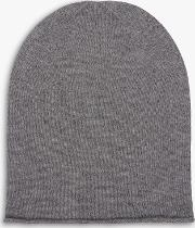Cashmere Slouchy Beanie Hat