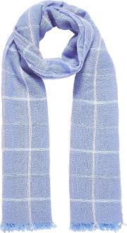 Cashmere Windowpane Stole