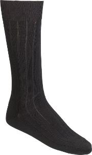 Rib Socks, Pack Of 3, One Size