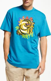 Touri Illustration Big Logo T Shirt