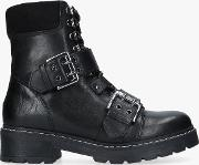 Saunter Buckle Ankle Boots