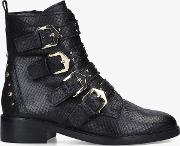 Scant Buckle Ankle Boots