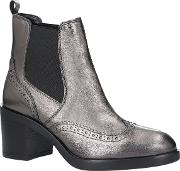 Slow Down Block Heeled Ankle Boots