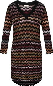 Marcy Wave Knit Jumper, Multi