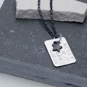 Personalised Men's Dog Tag Necklace