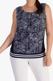 Contrast Lace Camisole Top
