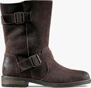 Demi Flow Leather Mid Calf Boots