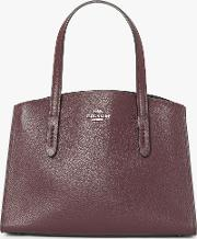 Charlie 28 Leather Carryall Tote Bag