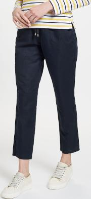 Drawstring Chino Trousers