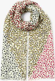 Sweetheart Oblong Cotton Scarf