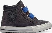 Junior Chuck Taylor All Star Boots On Mars Hi Top Trainers