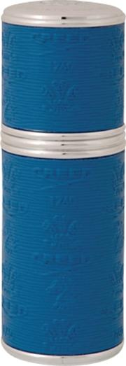 Silver Trim Leather Bound Refillable Atomiser, 50ml